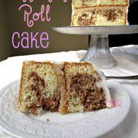 cinn roll cake