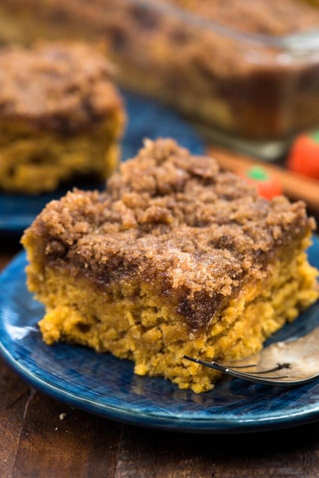 Pumpkin Coffee Cake Crazy For Crust