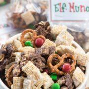 Elf Munch Chex Mix Snack Recipe