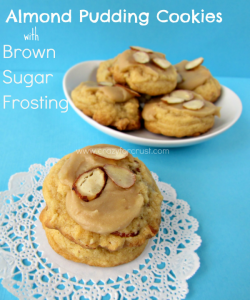 Almond Pudding Cookies