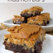 Brownie Mud Hen Bars | Crazy for Crust