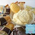 white chocolate cheesecake dip