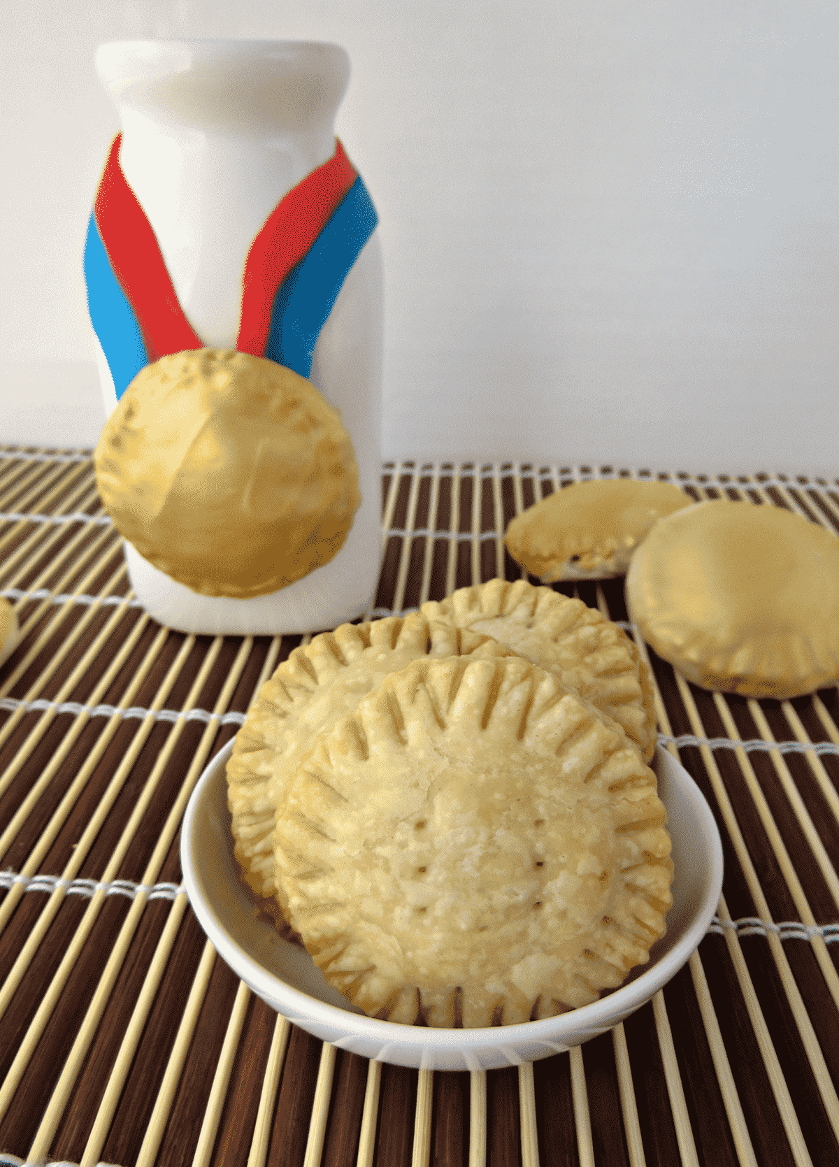 Olympic Medal Hand Pies 3