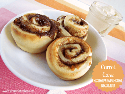carrot cake cinnamon rolls 1 words