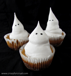 Ghost pumpkin cheesecakes 1 words