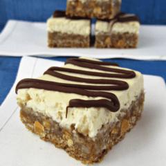 Oatmeal Scotchie Cheesecake Bars 1 words