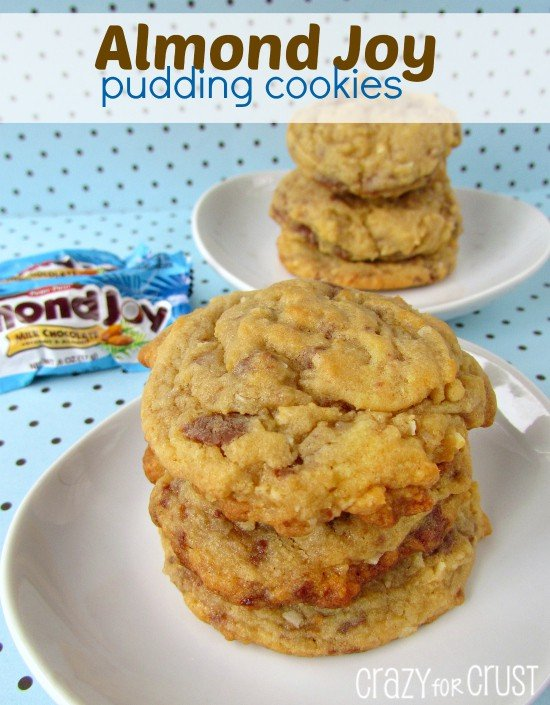 almond joy pudding cookies