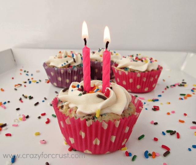 Funfetti Cake Batter Pies by www.crazyforcrust.com | #funfetti #pie