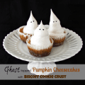ghost pumpkin cheesecakes 2 words
