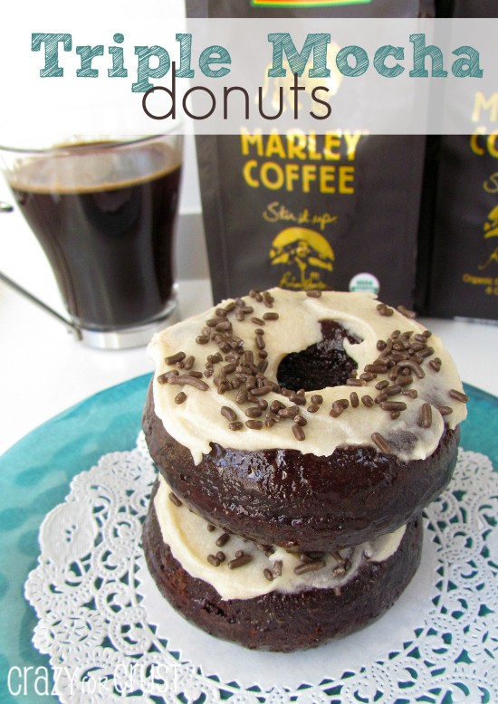 triple mocha donuts | crazyforcrust.com
