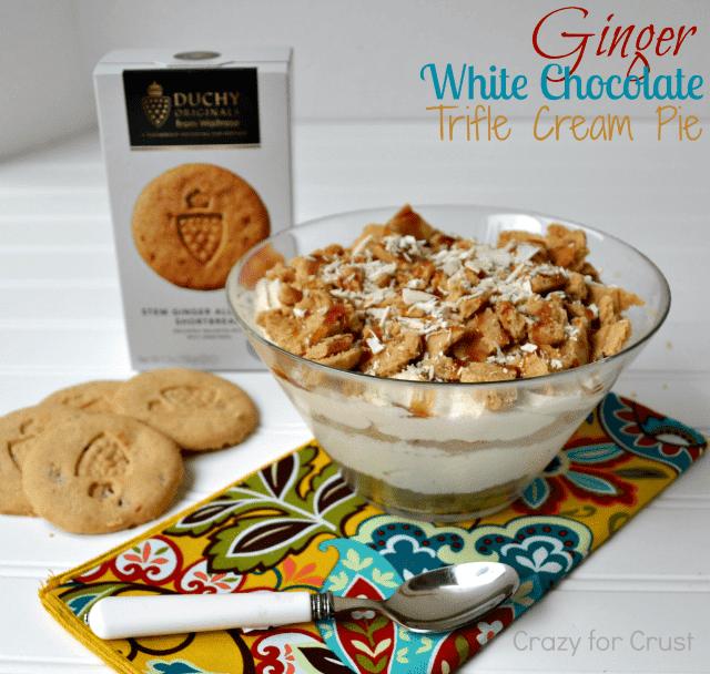 White Chocolate Ginger Shortbread Ice Cream Recipe — Dishmaps