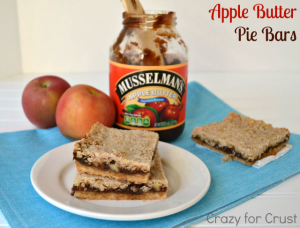 apple butter pie bars 4 words