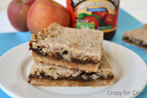 apple butter pie bars 5 words