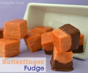 butterfinger fudge 2 words