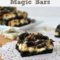 cookies n' cream magic bars
