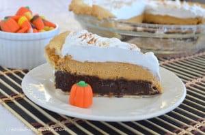 pumpkin cheesecake brownie pie4