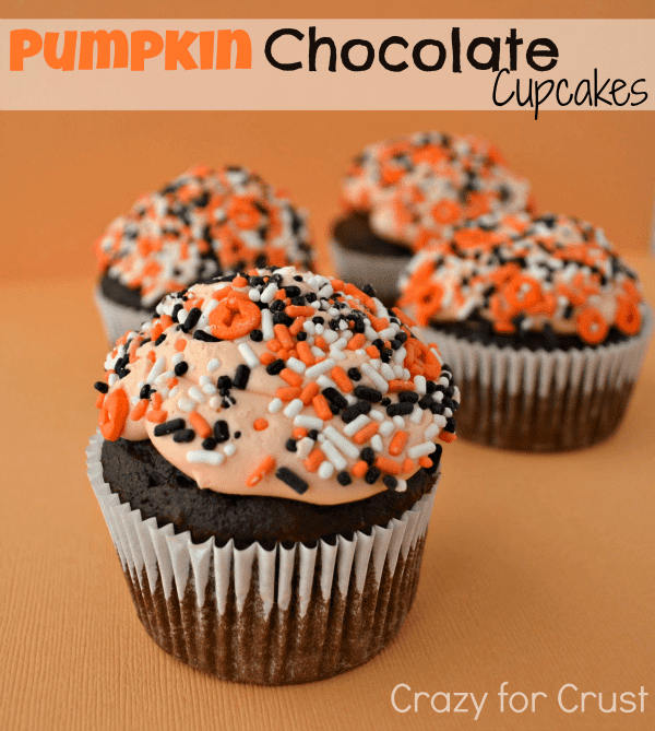 Recipe: Pumpkin chocolate cupcakes