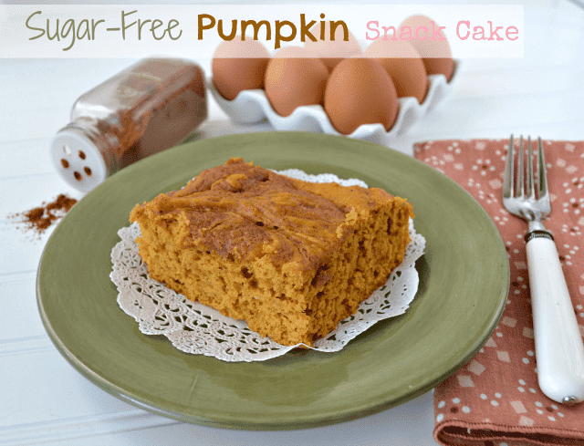 sugar free pumpkin cake 1 words