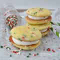 Funfetti sandwich cookies10 words