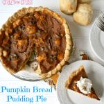 Pumpkin Bread Pudding Pie 3 wor