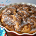 Cinnamon Roll Coffee Cake Pie by Crazy for Crust