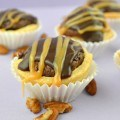 turtle brownie pies
