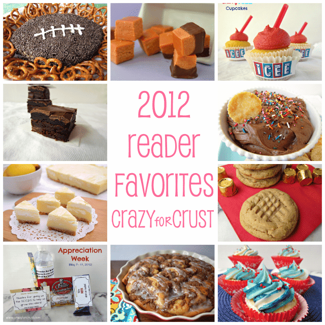 2012 reader favorite posts collage photo of recipes