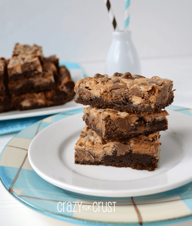 Brownie Peanut Butter Magic Bars