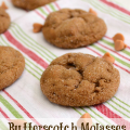 Butterscotch Molasses Pudding Cookies by www.crazyforcrust.com #cookies #Christmas