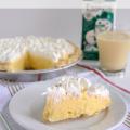 Eggnog Pie by www.crazyforcrust.com #Eggnog #Christmas #Pie