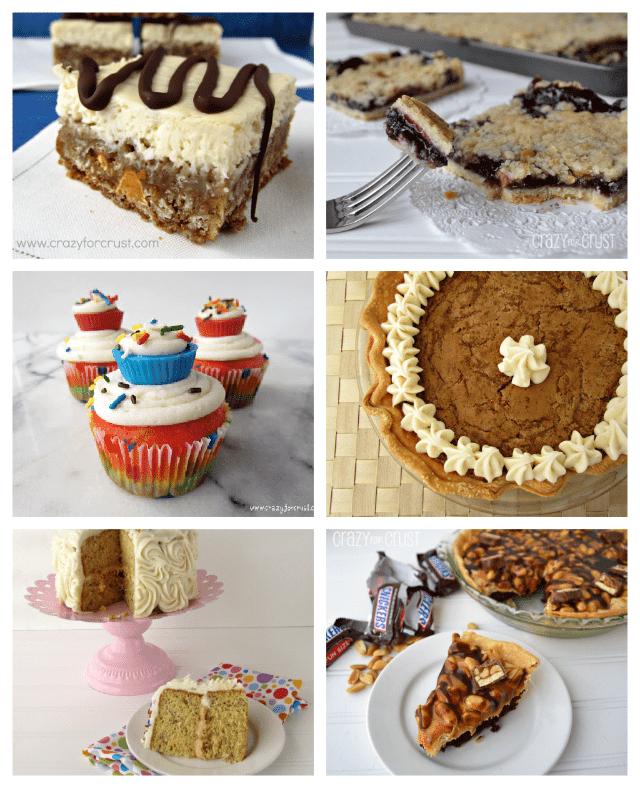 collage of 6 recipe photos