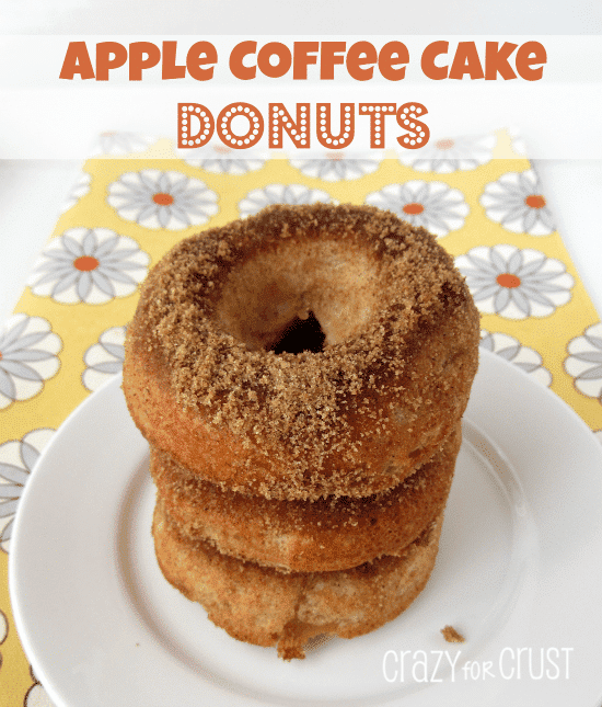 Apple Coffee Cake Donuts 1
