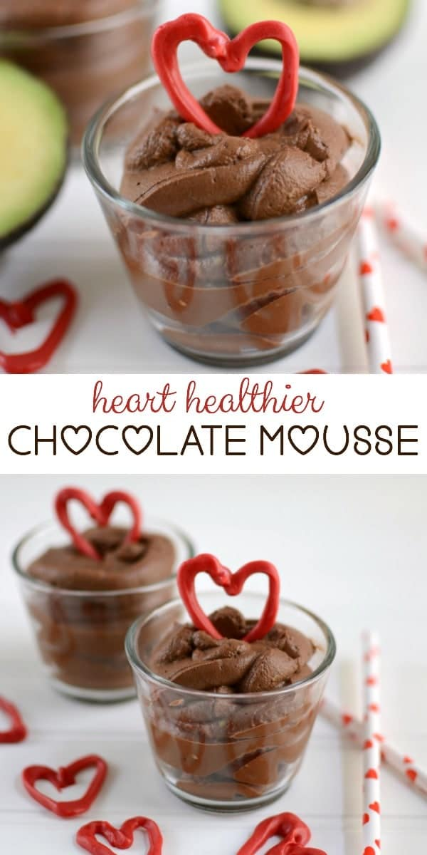 Heart Healthier Chocolate Mousse