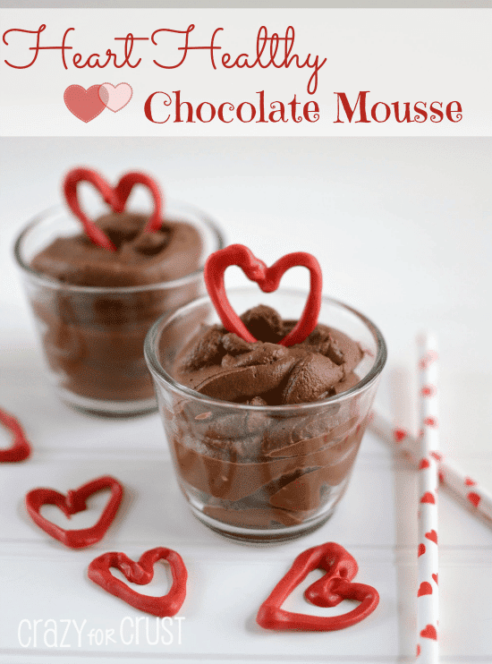 Heart Healthy Chocolate Mousse