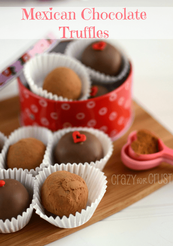 Mexican Chocolate Truffles 2 words