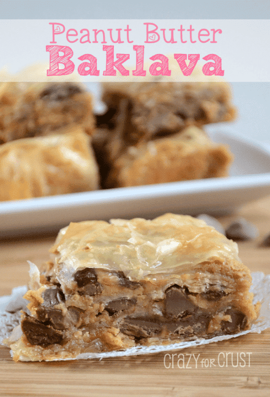 Peanut Butter Baklava 4 words