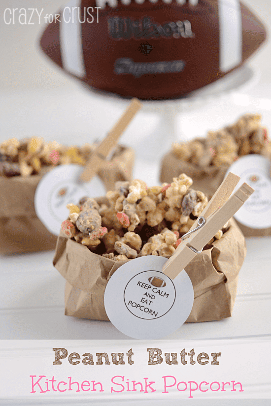 Peanut Butter Kitchen Sink Popcorn