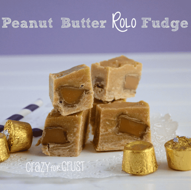 Peanut Butter Rolo Fudge 1 words