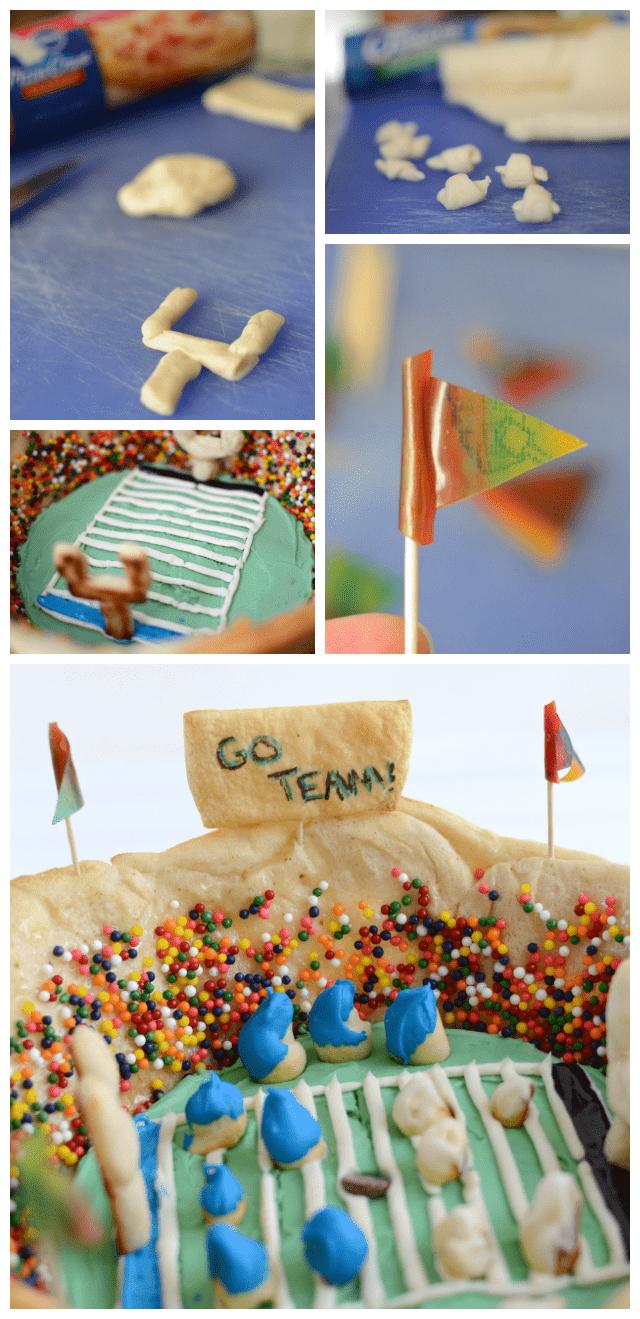 snackadium - how to make the snackadium collage