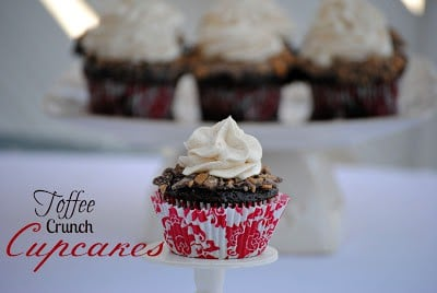 Toffe Cupcakes
