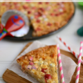 White Chocolate Macadamia Magic Pizza 5 words