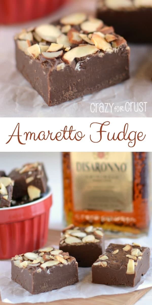 Amaretto Fudge