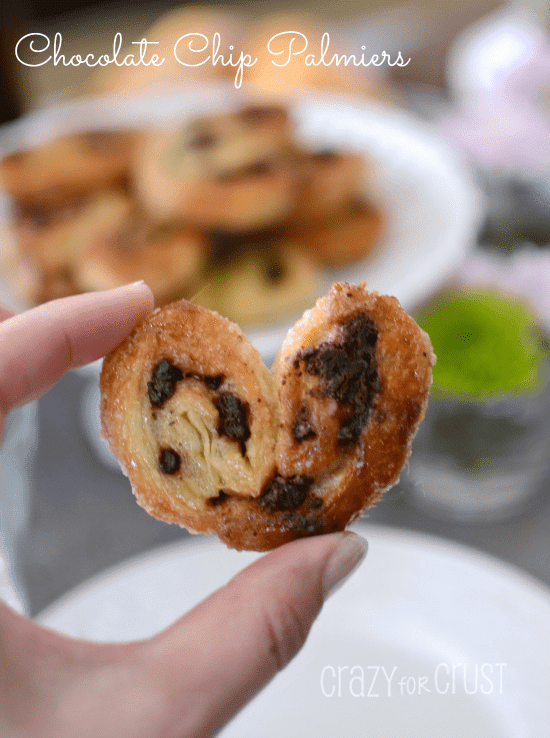Chocolate Chip Palmiers