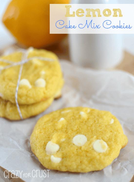 lemon cake mix cookies 4 words