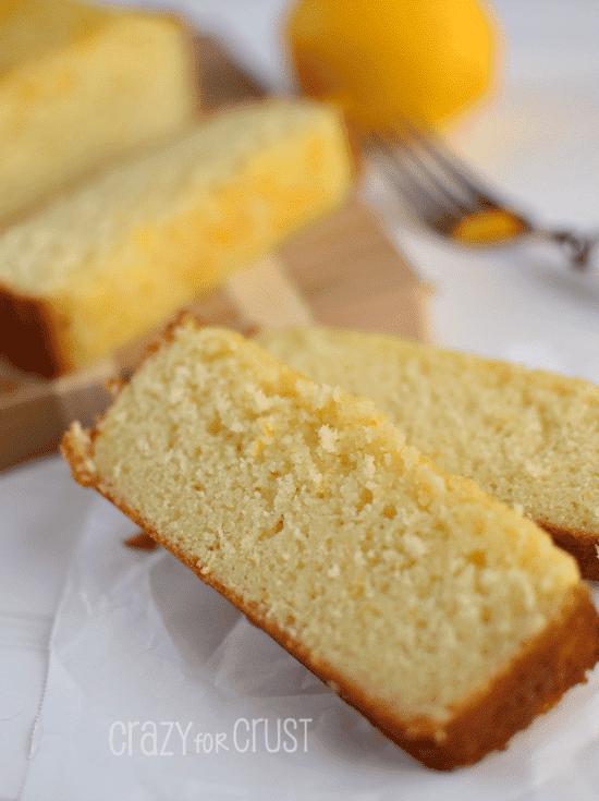 Triple Lemon Pound Cake - my FAVORITE lemon cake!