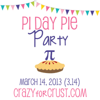 pi day pies button