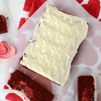 red velvet cheesecake loaf 4 words