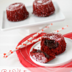 red velvet molten lava cake 1 words