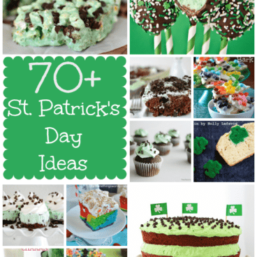 st patricks day round up of recipes collage photo
