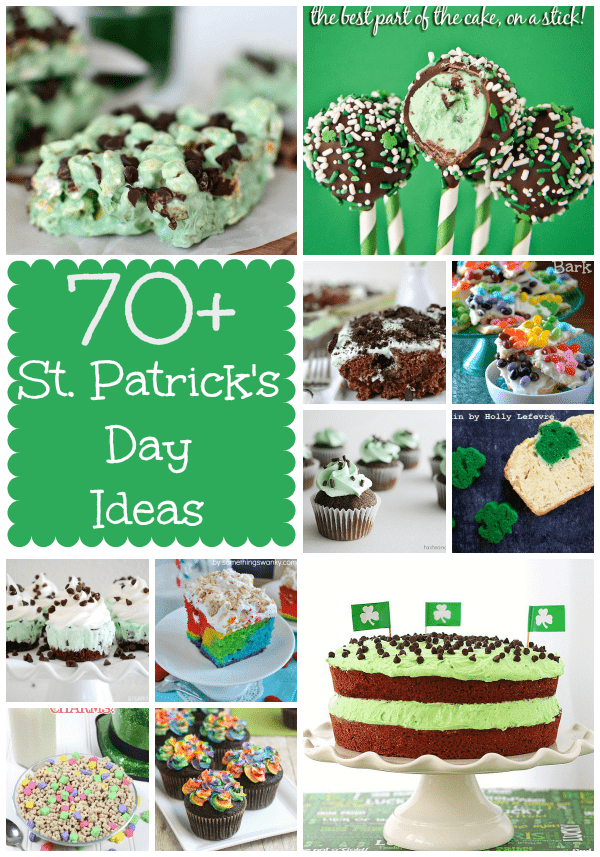 Dorothy's 70+ St. Patrick's Day Ideas pic collage